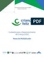 cuidados para CDC  - PCF