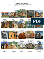 Safe Room Designs - Tiny House 2019 Catalog - Revised 1-4-2019