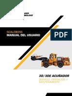 Manual de Operación Scaler Boos
