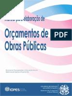 Manual de Elaboração de Orçamentos - Obras