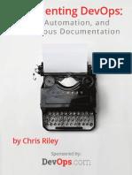 Documenting DevOps