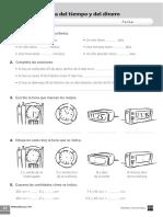 Matematicas Tema 8 La medidad del tiempo y del dinero 3º Primaria Sm.pdf