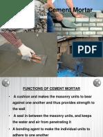 8.Cement Mortar.pptx