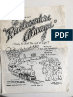 Railroaders Always Song