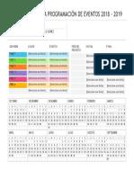 Calendario Planificador Anual
