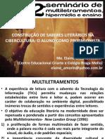 SEMINÁRIO DE MULTILETRAMENTOS 2.pps
