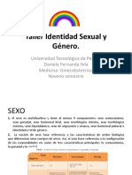 Taller Identidad Sexual y Género. Universidades (1)