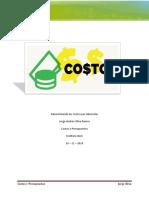 Control 2 - Costos y Presupuestos