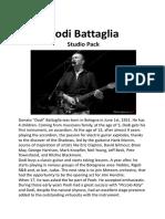 Dodi Battaglia Studio Pack