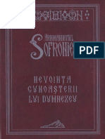 Arhimandritul Sofronie - Nevoința cunoașterii lui Dumnezeu(1).pdf
