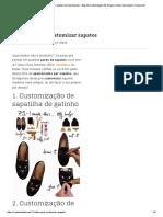 12 Ideias Para Customizar Sapatos _ Customizando - Blog De Customização De Roupas, Moda, Decoração E Artesanato.pdf
