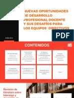 Desarrollo Profesional Docente 2019