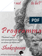 Shakespeare concert