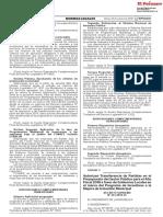 DS Nº 243-2018-EF Transferencia PI