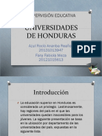 Universidades de Honduras
