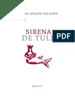 Sirena de Tule Jorge Arzate Salgado