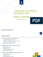 Airtel-Nigeria Network Analysis and Recommendation June,10-Oct,10