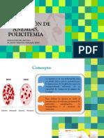Clasificación de Anemias y Policitemia