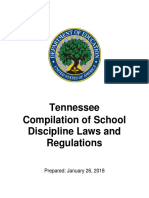 Tennessee School Discipline Laws and Regulations