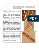 Instrumentos Musicales Andinos