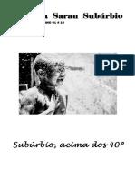 Revista Sarau Subúrbio edição 10