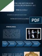 Introduccion a La Fisiologia.
