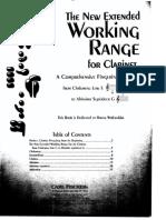 Kalmen Opperman the New Extended Working Range for Clarinet
