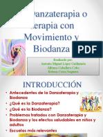 La Danzaterapia o Terapia Con Movimiento y Biodanza
