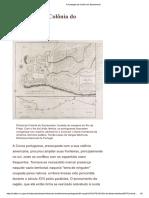 A Fundação Da Colõnia de Sacramento (Reinado de D. Pedro I)