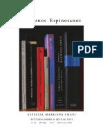 A Desconstrução Da Ideia de Lei Divina No Capítulo IV Do T T P de Espinosa - M Chauí