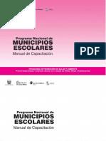 Manual de Capacitacion de Municipios Escolares
