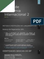 Economia Internacional 2 Aula 2