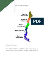 Zonas Naturales de Chile Josefa