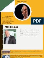 Paul Polman Lider Global