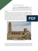 catedral gotica española
