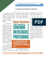 Nota en Revista Conversaciones de Coaching