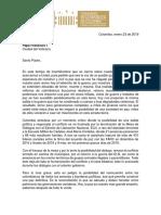 Carta Bancada Alternativa Al Papa_Final