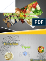 Alimentos Fortificados