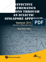[Khoon Yoong Wong ]Effective Mathematics Lessons Through an Eclectic Singapore Approach(PDF){Zzzzz}