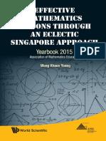 [Khoon Yoong Wong ]Effective Mathematics Lessons Through an Eclectic Singapore Approach(PDF){Zzzzz}