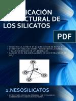 Clasificación Estructural de Los Silicatos