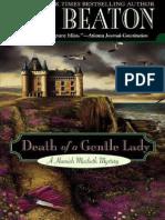Death of a Gentle Lady - M. C. Beaton.pdf