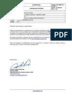 09.11.18 Comunicado Interno Capacitacion en Conduccion Ecologica