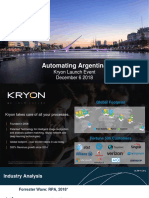 Automating Argentina