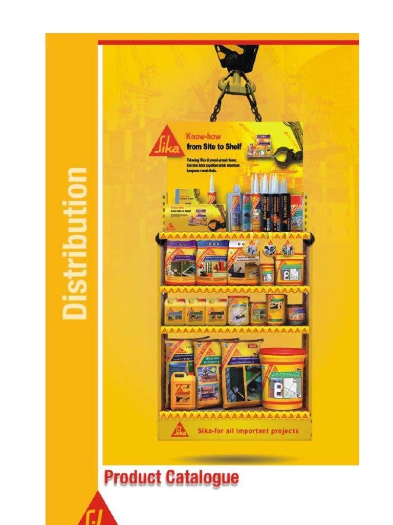 SIKA Product Catalogue 2009