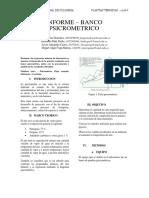 Laboratorio psicronmetria