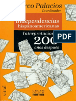 Palacios, Marco (ed.). - Las independencias hispanoamericanas [2009].pdf