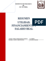 FINANCIAMIENTO Y SALARIO REAL