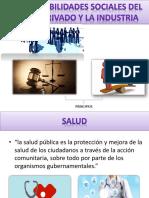 Responsabilidades Sociales Del Sector Privado y La