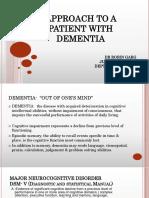 Seminar Dementia